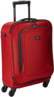 Victorinox Global Carry-On Cabin Luggage - 20 inch(Red) at flipkart