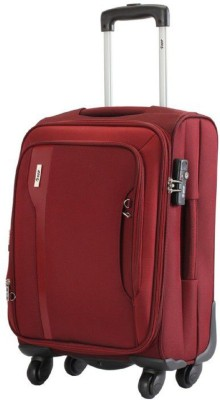 VIP TUSCANY II STR 56 RED Expandable  Cabin Luggage - 20 inch(Maroon)