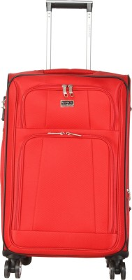 Giordano Oxford8301 RD24 Expandable Check in Luggage   24 inch Giordano Suitcases