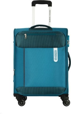 American Tourister Portugal SP Expandable  Check-in Luggage - 27 inch(Blue)