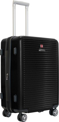 Swiss Military ALPHA SERIES POLYCARBONATE LARGE SIZE HARD TOP LUGGAGE Expandable Check in Luggage   28 inch