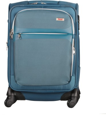 VIP Squad Spinner Soft Trolley 55cm (Navy Blue ) Expandable  Cabin Luggage - 22 inch(Blue)