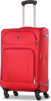 Novex Atlanta Expandable Cabin Luggage   20 inch   Red  Novex Suitcases