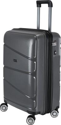 ef6eeda74481ee 55% OFF on Nasher Miles Warrior Dark Grey 20 Expandable Cabin Luggage - 20  inch(Grey)
