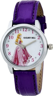 Golden Bell 0010GBK Cinderella Story Analog Watch For Boys