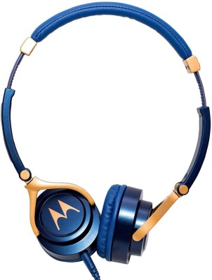 bs power EZ401 Blue Wired Headset with Mic(Blue, In the Ear)