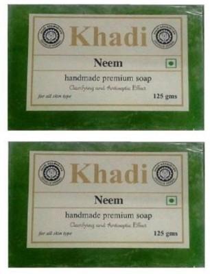 Khadi Neem Soap ( Pack of 2 )(2 x 125 g)