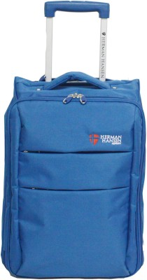 Herman Hansen Foldable 300D POLYESTER Expandable Cabin Luggage   20 inch Herman Hansen Suitcases