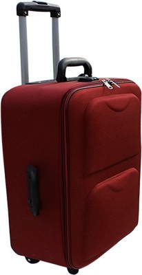 AdevWorld PREMIUM DOUBLE DESIGN Expandable Check in Luggage   23 inch