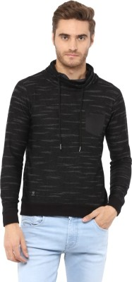 Mufti Full Sleeve Self Design Men Sweatshirt at flipkart