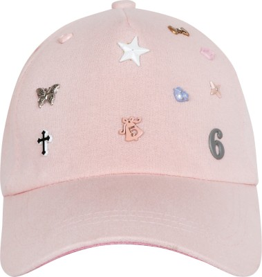 Friendskart Solid Embroidered Embroidered Sports Baseball Girls and Women Caps Cap Cap