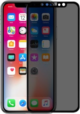 """Nillkin Edge To Edge Tempered Glass for Apple iPhone XS (5.8"""" Inch) AP+ Privacy Black(Pack of 1)"""