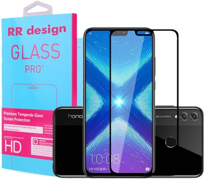 RR Design Edge To Edge Tempered Glass for Honor 8X(Pack of 1)