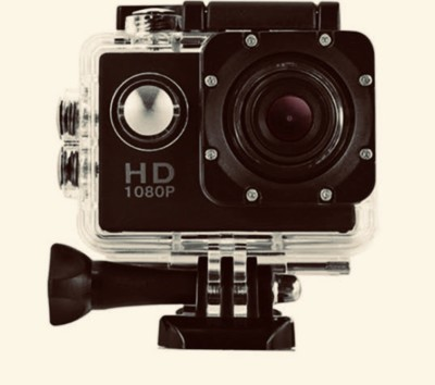 techobucks GO PRO 5 go pro 1080 hd 1080p Action Camera Go Pro Style APC05 Sports and Action Camera(Black 12 MP) 1