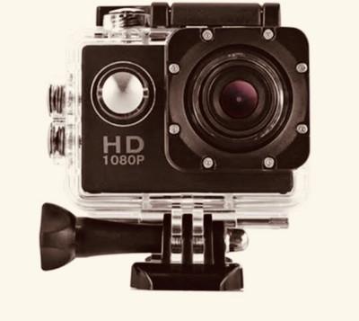 techobucks GO PRO 5 go pro 1080 hd 1080p Action Camera Go Pro Style APC02 Sports and Action Camera(Black 12 MP) 1