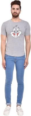 Vogue Tantra Graphic Print Men & Women Round Neck Grey T-Shirt Flipkart