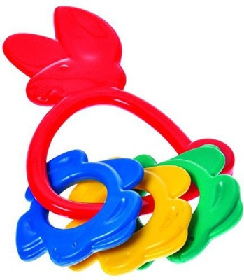 Funskool Bunny Rattle Rattle(Multicolor)