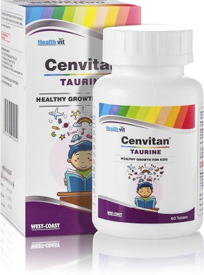 HealthVit Cenvitan Taurine Healthy Growth For Kids, 60 Tablets Unflavored