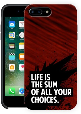 Polymol Back Cover for Apple iPhone 7 Plus Life and choice motivational quote, Hard Case, Polycarbonate