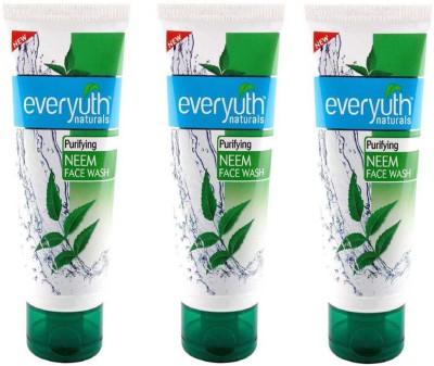 Everyuth Naturals Face Wash 50g x 3 NEEM Face Wash(150 g)