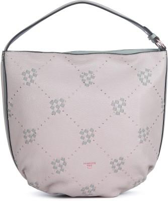 Da Milano Women Beige Shoulder Bag