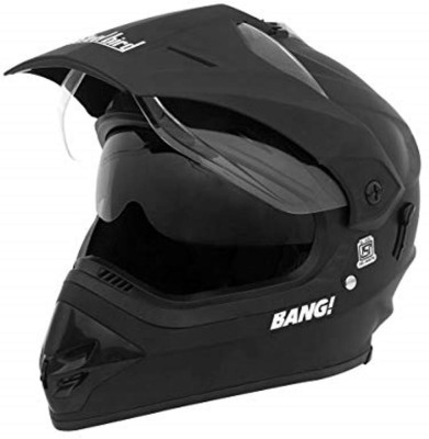 Steelbird SB-42 BANG Motorbike Helmet(MAT BLACK)