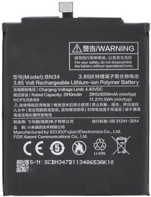 SAFA Mobile Battery For Xiaomi Redmi Mi 5A