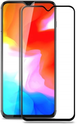 Higar Edge To Edge Tempered Glass for OnePlus 6T(Pack of 1)