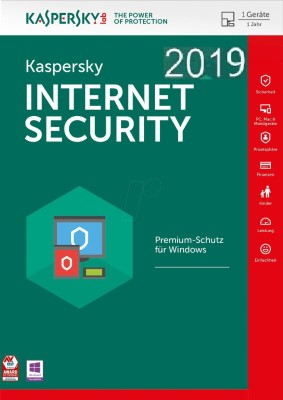 KASPERSKY Internet Security 2018 / 2019 - 1 Pc / 1 Year / 1 User [1 Key+ 1 CD] (Latest Version)