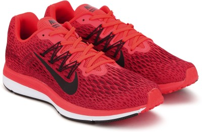 Nike NIKE ZOOM WINFLO 5 Running Shoes For Men(Red) 1