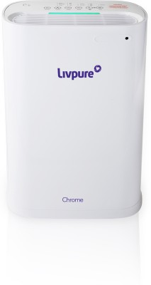 Livpure Chrome Portable Room Air Purifier White