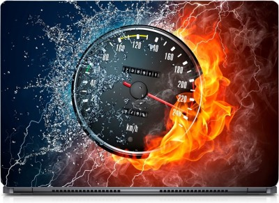 Gallery 83 ® Cool Fire Digital Meter Exclusive High Quality Laptop Decal, laptop skin sticker 15.6 inch (15 x 10) Inch G83_skin_0229new Vinyl Laptop Decal 15.6