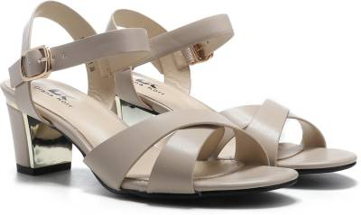 Diana Korr Women Beige Heels