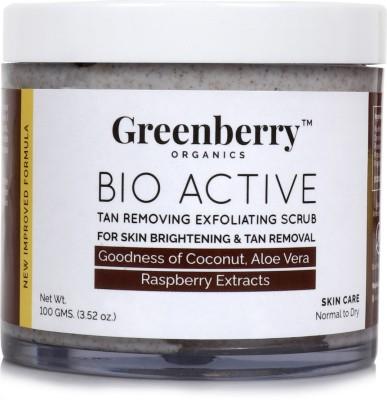 Greenberry Organics Tan Removing & Exfoliating  Scrub(100 g) 1