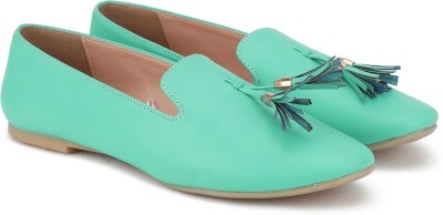 Lavie Bellies For Women(Green) at flipkart