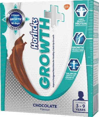 Horlicks Growth Plus Nutrition Drink(200 g, Chocolate Flavored)