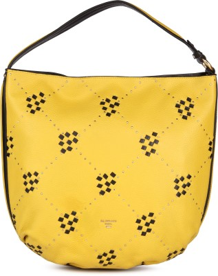Da Milano Women Yellow Shoulder Bag