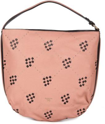 Da Milano Women Pink, Black Shoulder Bag