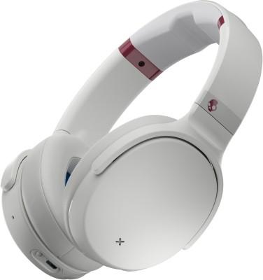 Skullcandy Venue S6HCW-L568 Over The Ear Bluetooth Headphones with Mic (ViceGrayCrimson)
