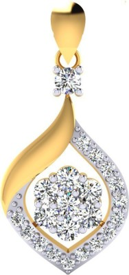 Samaira Gem and Jewelery Love Forever Swarovski Crystal Metal Pendant at flipkart