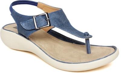 BELLA TOES Women BLUE Flats