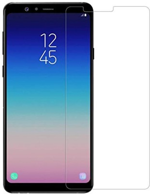 WSX Retail Tempered Glass Guard for Sumsung Galaxy A8 Star Tempered Glass[Transparent], Screen Protector For Sumsung Galaxy A8 Star, WSX™ Sumsung Galaxy A8 Star Tempered glass[Transparent] Super Strong, Anti-Scratch, Ultra-Clear Curved Tempered Glass[Transparent] For Sumsung Galaxy A8 Star(Pack of 2