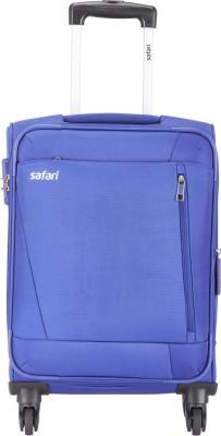 Safari SAVAGE 4W 57 Blue Expandable Cabin Luggage   22 inch