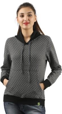 ZOROZ Full Sleeve Self Design Women Sweatshirt ZOROZ Women's Sweatshirts