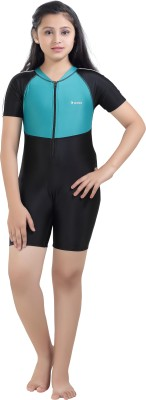 Rovars Solid Girls Swimsuit