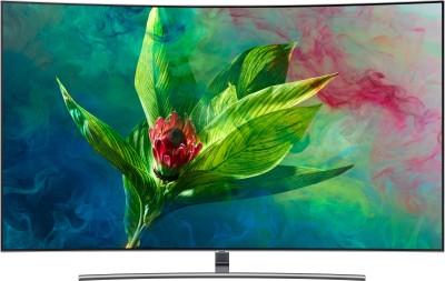 View Samsung Q Series 163cm (65 inch) Ultra HD (4K) Curved QLED Smart TV(QA65Q8CNAKXXL)  Price Online