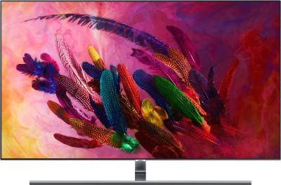 View Samsung Q Series 138cm (55 inch) Ultra HD (4K) QLED Smart TV(QA55Q7FNAKXXL)  Price Online