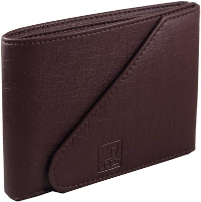 Wenzest Boys Brown Artificial Leather Wallet(3 Card Slots)