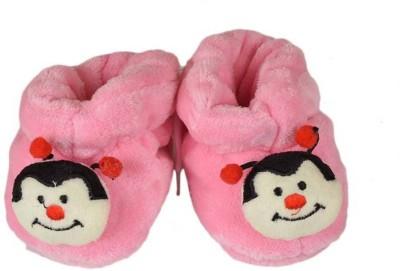 Tahiro Booties(Toe to Heel Length - 11 cm, Pink)