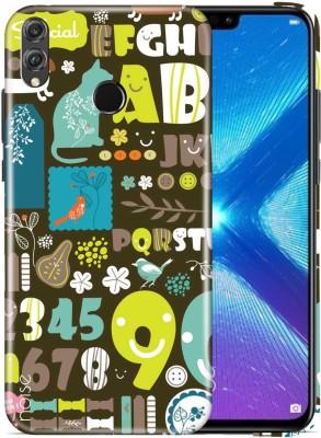 Noise Back Cover for Honor 8X(Multicolor, Hard Case, Plastic) Flipkart